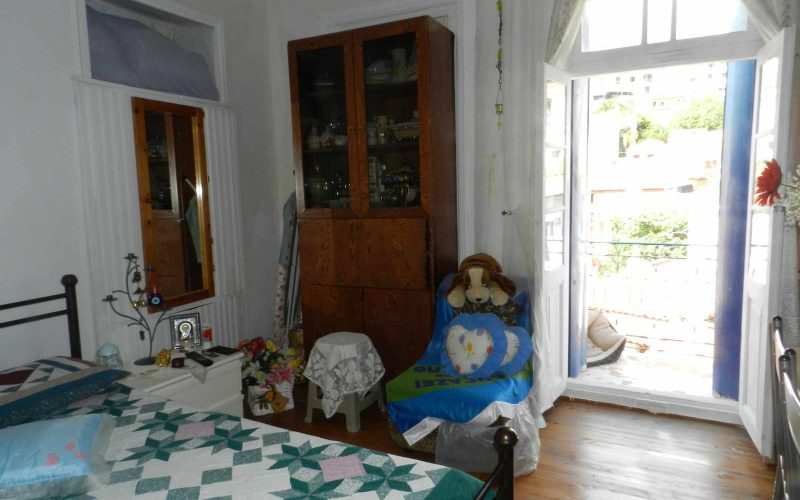 Two Town Houses both with yards inside Skopelos Town The top floor