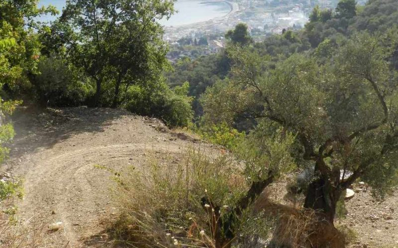 Land property above Skopelos Town with breathtaking views Plot 2