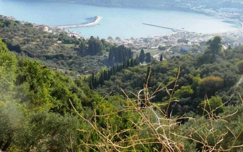Land property above Skopelos Town with breathtaking views Views