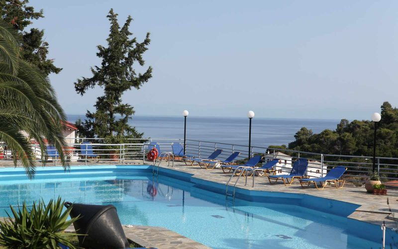 Exquisite hotel for sale above Stafilos Beach Pool