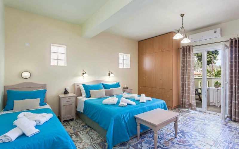 Exquisite hotel for sale above Stafilos Beach Bedroom