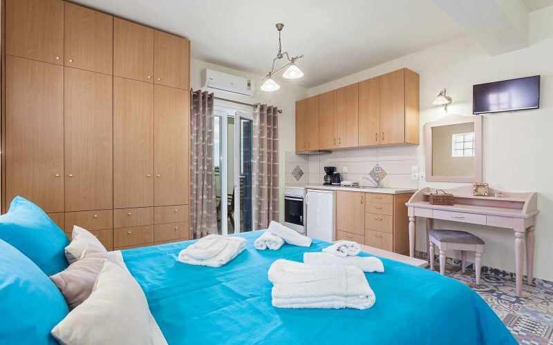 Exquisite hotel for sale above Stafilos Beach Double Bedroom