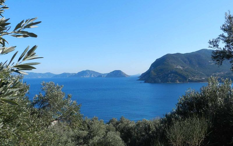 Unique plot in Agios onstantinos area with spactacular views