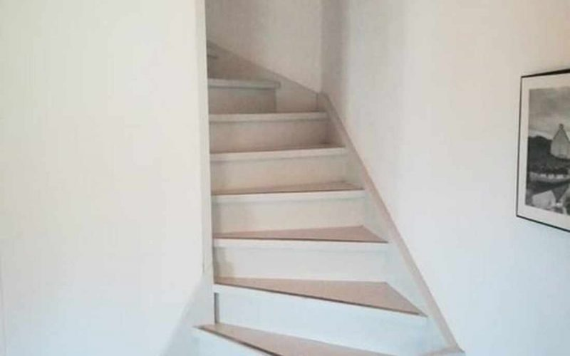 Property in walking distance to Agnontas beach Staircase