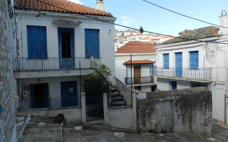 Town property with private garden main