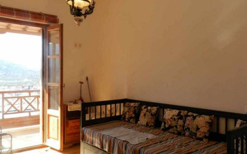 Skopelos Property with most spectacular views The living room area