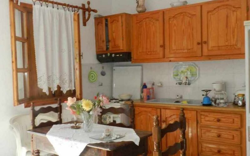 Skopelos Property with most spectacular views The kitchen