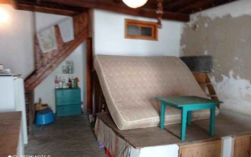 Traditional property in Old Klima village on Skopelos Island Living room