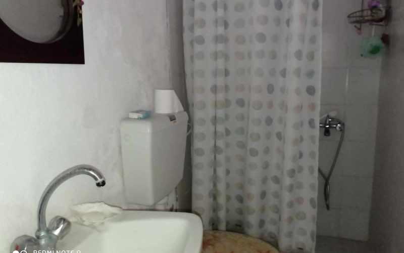 Traditional property in Old Klima village on Skopelos Island Bathroom
