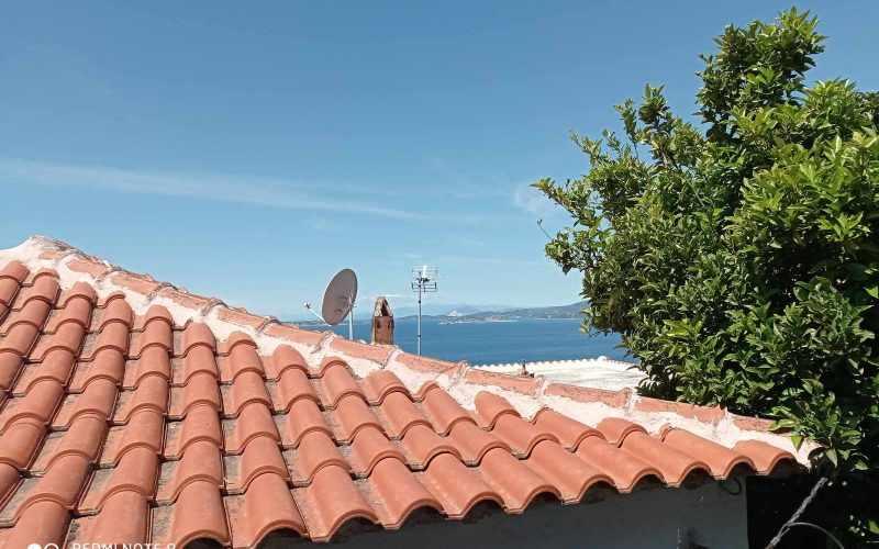 Traditional property in Old Klima village on Skopelos Island Views