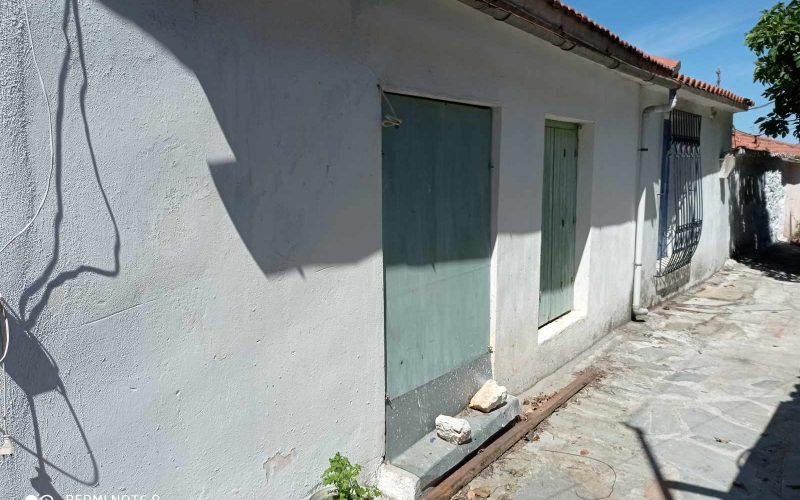 Traditional property in Old Klima village on Skopelos Island