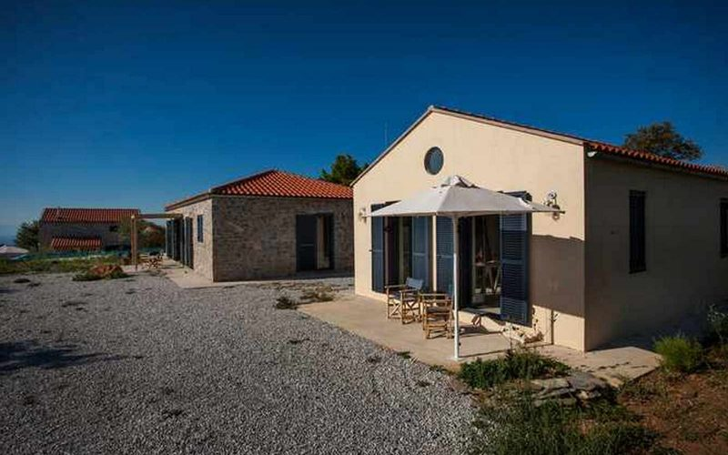 Complex of cottages with best views to the Aegean Sea Small cottage
